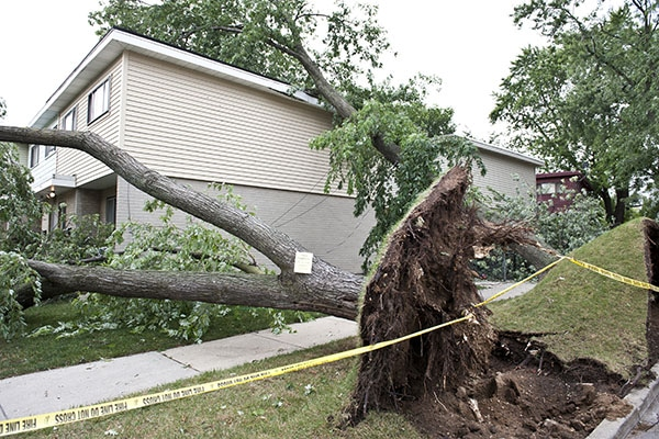 Crown Roofing & Masonry Storm Damage Chicagoland